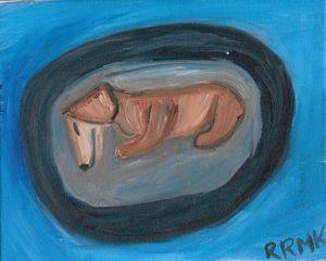 Rena, my sweet dachshund.