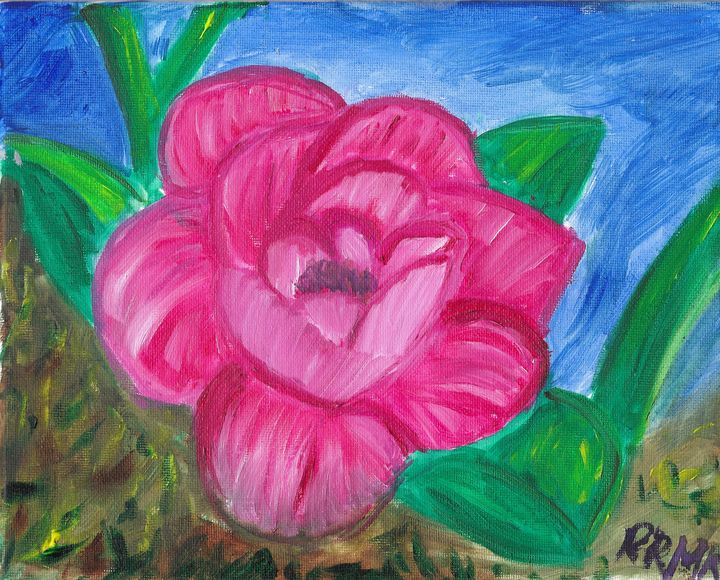 Pink rose - Rebecca Magurean