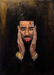 Drake Oil Painting