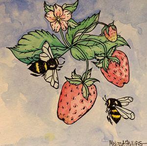 berries & bees