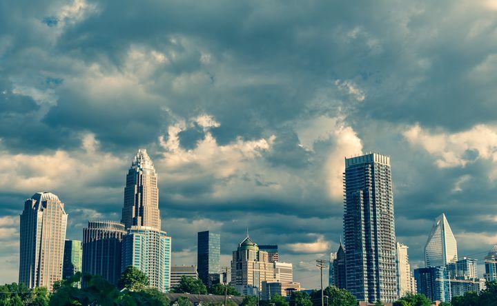 Charlotte, NC Skyline - D.N.S.Photography