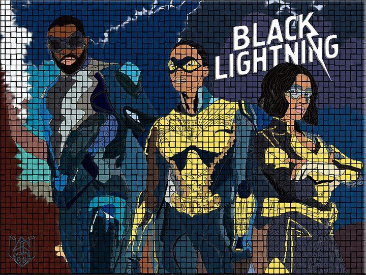 Black Lightning (TV Show) - D.N.S.Photography