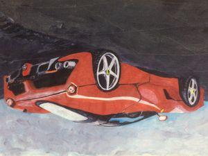 Red Ferrari - Pargat