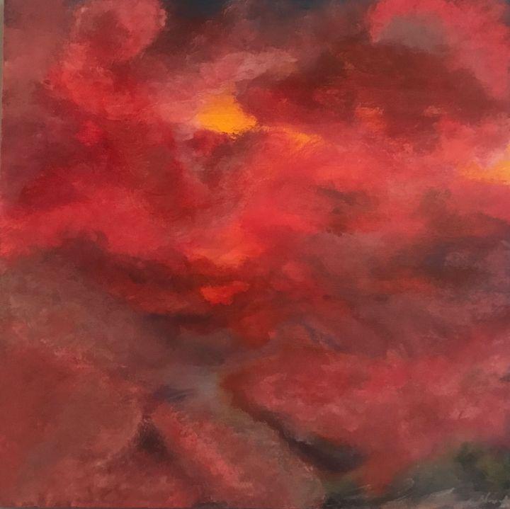 Red sky - MartaHNowak