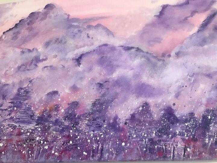 Purple dawn - MartaHNowak