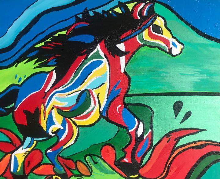 Horse of true colours - MartaHNowak