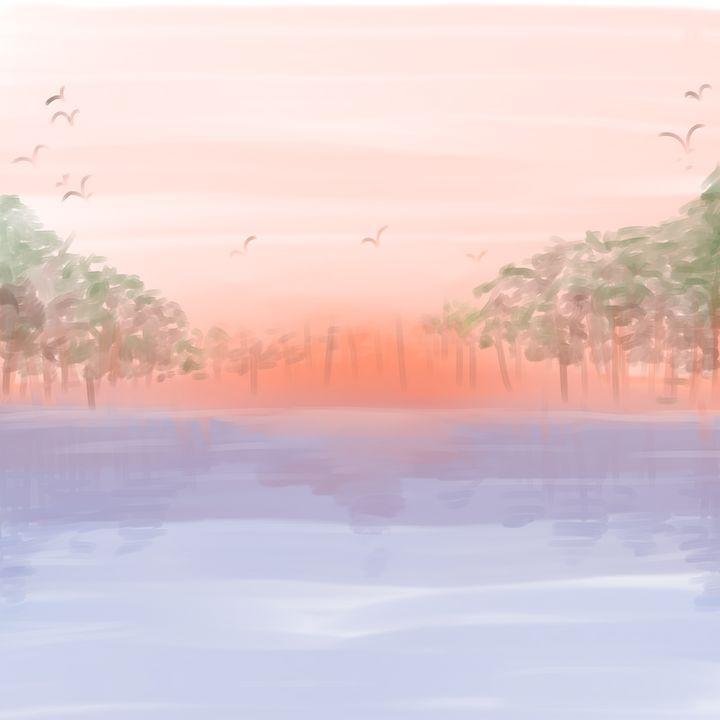 Calming Horizon - StrangeAbstract