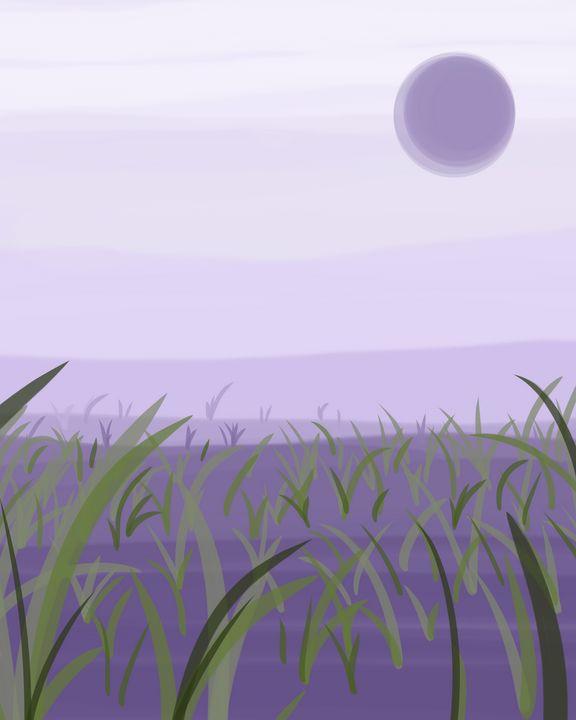 Silent Grassland - StrangeAbstract
