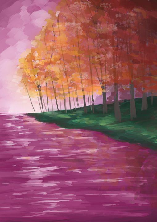 Autumn Waters - StrangeAbstract
