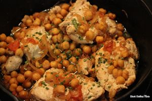 Chicken with Chick Peas