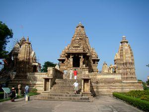 Beautiful temple in Khajuraho