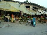 Street vegetables market