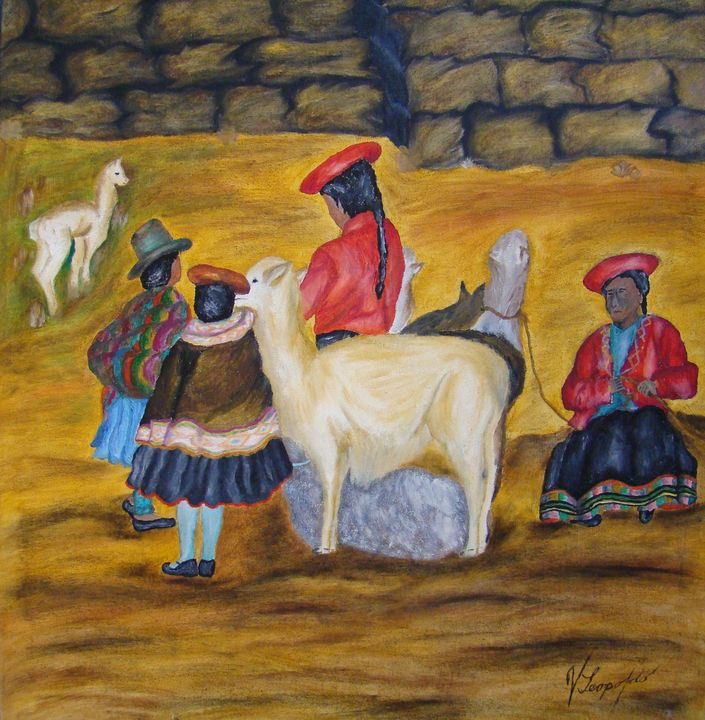 Peasants of the Andes - Jleopold