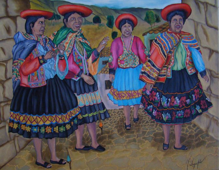 Older women of the Cuzco - Jleopold