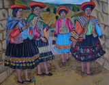 Older women of the Cuzco