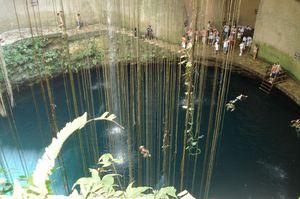 The Ik Kil Cenote Mexico