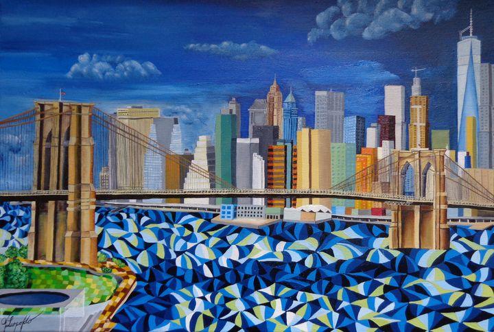 New York and Brooklyn Bridge - Jleopold