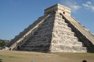 City of Chichén Itzá Mexico