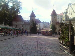 Santa Catalina entrance-Tallinn