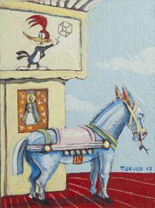 BLUE HORSE CUBE