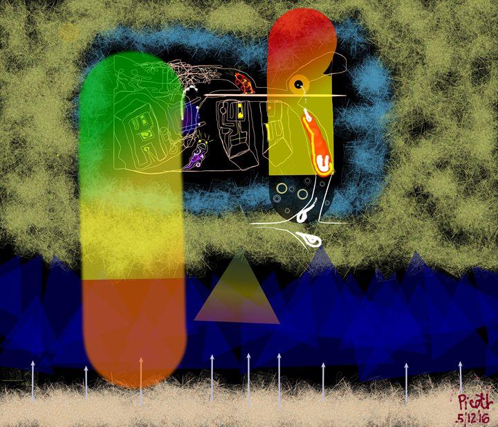 Space Capsules - J.R.Picott