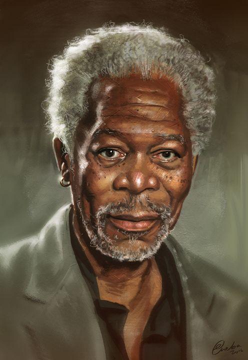 Morgan Freeman - Erlson's Art