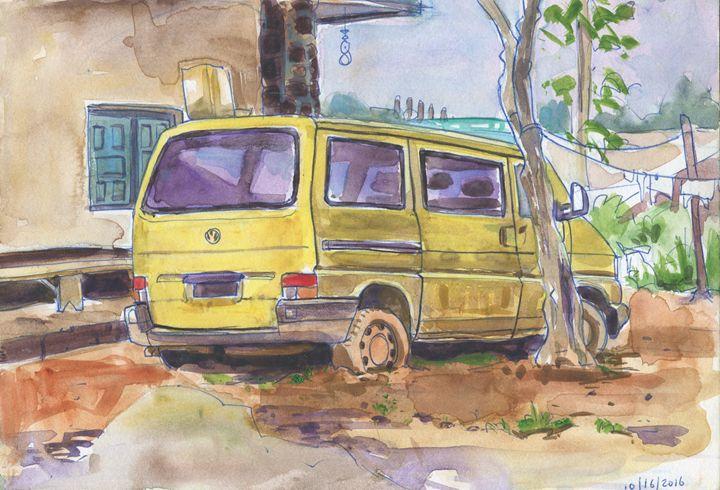Sonac Street Compound II - Erlson's Art