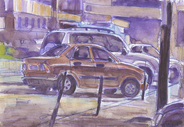 Commercial Avenue Sketch - Erlson's Art