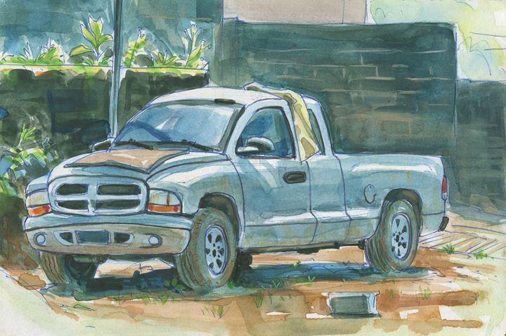 Old Truck - Erlson's Art