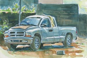Old Truck - Erlson's Art