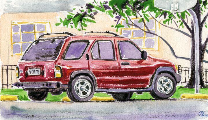 Vermilion Vehicle - Erlson's Art