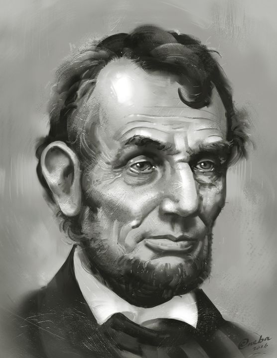 Abraham Lincoln - Erlson's Art