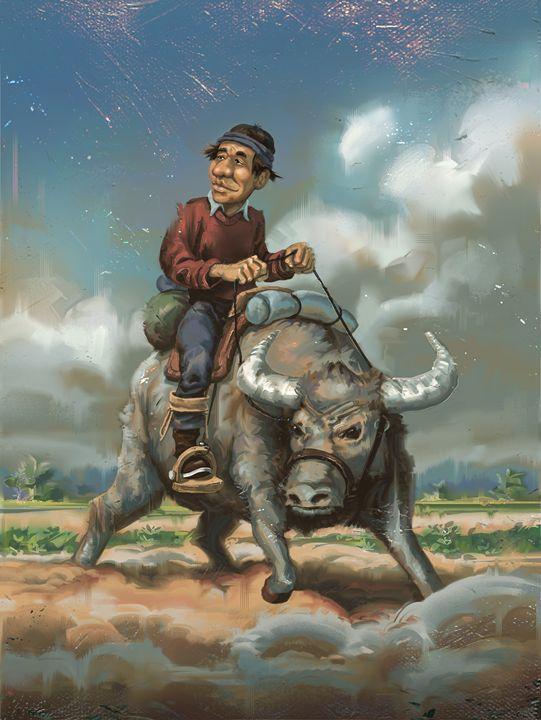 Ox - Erlson's Art