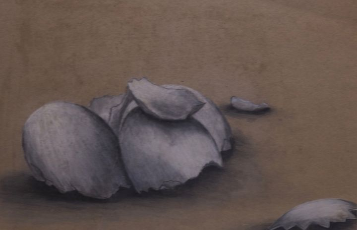 Egg shells - Larry Schultz