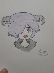 Aries Anime Girl