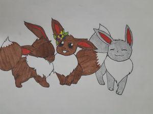 Eevee Trio