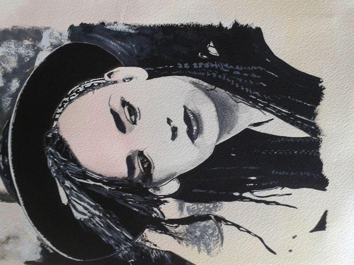 Boy George - David Bark Fine Artist