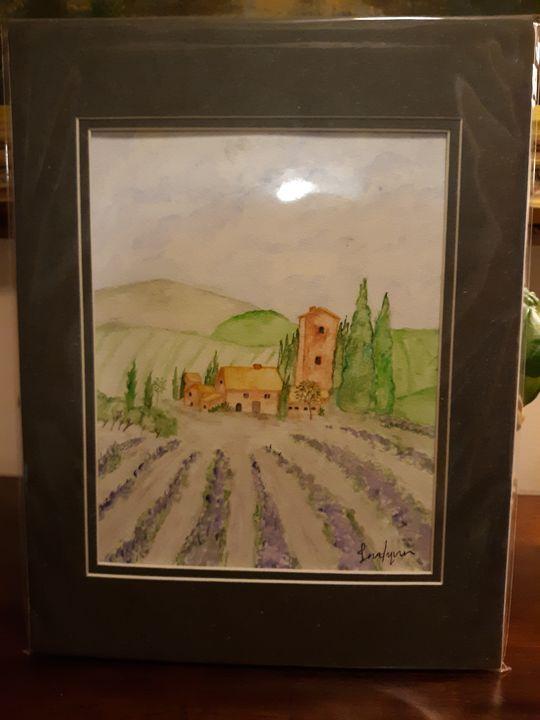 Spanish Lavender Fields - Paisley-Grace Art