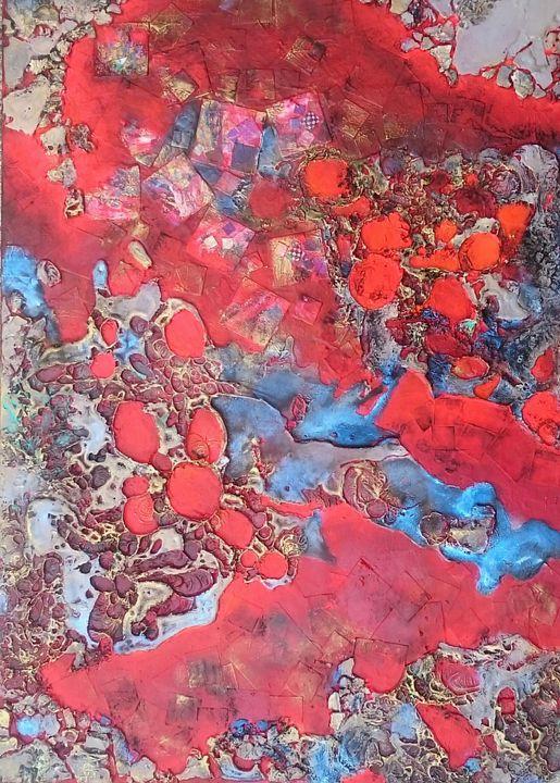 Lava field - LyndaRStevens