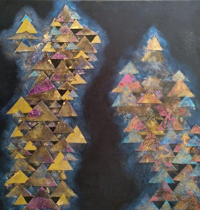 Converging Triangles - LyndaRStevens