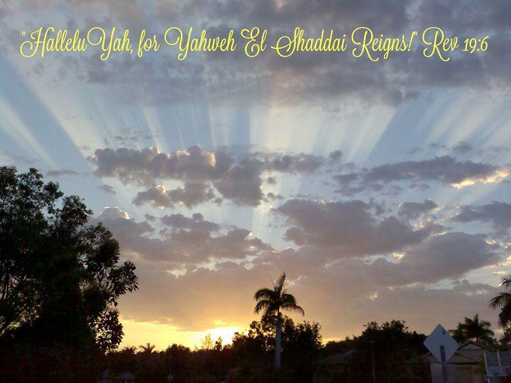 HalleluYah Yahweh Reigns! - HalleluYAH Art