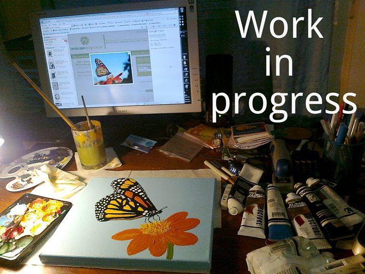 Work in progress - HalleluYAH Art