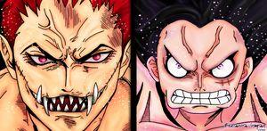 Katakuri vs Luffy
