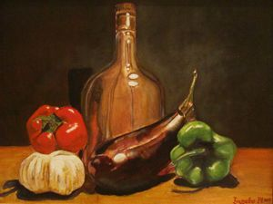 Still life Oil painting print