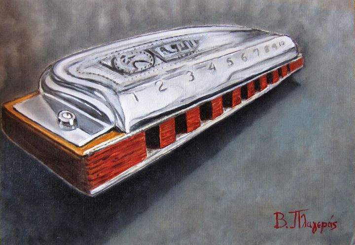 Blues Harp - 4upainting