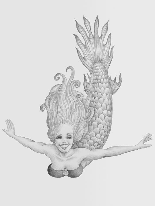 Mermaid - John Clisset