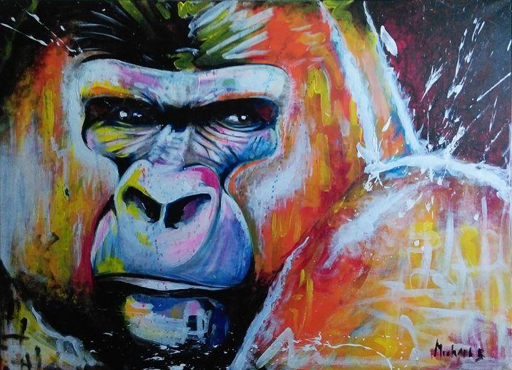 Gorilla, the king of the jungle - Mickaël B