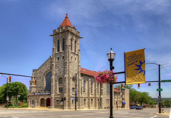 First United Methodist Church, Mansf - leftysphotos