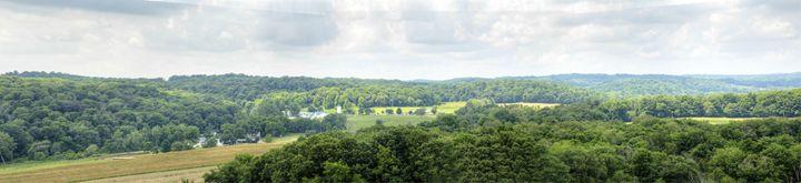 panorama of Malabar Farm - leftysphotos