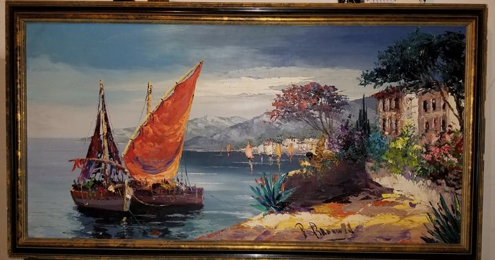 Ships on the Shore - Peter Brouwer